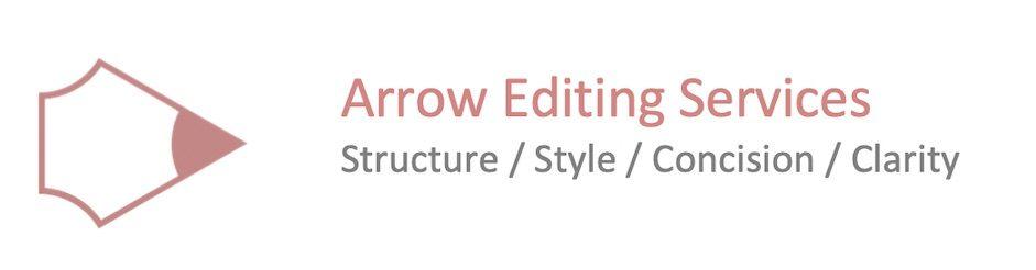 Logo for Arrow Editing Services